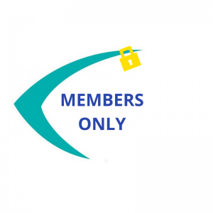 Members only image using the SEE logo and a padlock