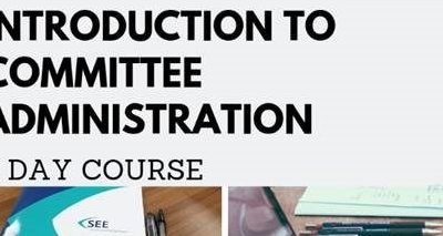 Introduction to Committee Administration