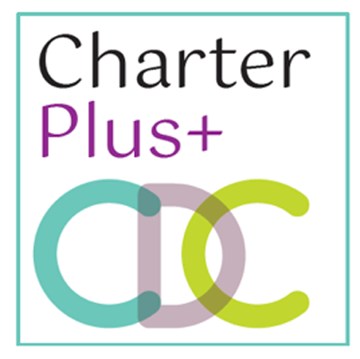 The logo for Charter Plus