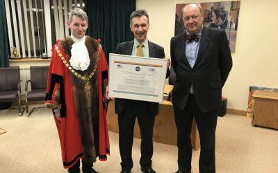 Woking Borough Council receive Charter Award!