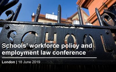 Schools' Workforce Conference – London