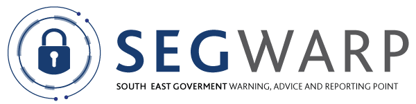 The logo for SEGWARP