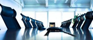 Image of an empty Board Room