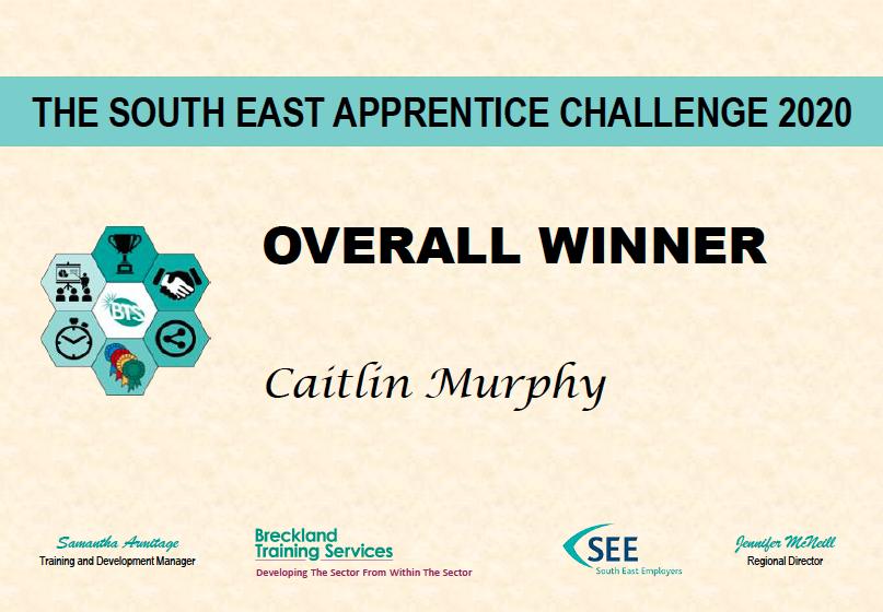 The first SE Apprenticeship Challenge